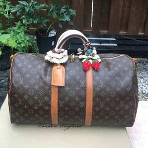 Auth Louis Vuitton Keepall 50(strap not included)